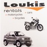 Loukis car, motorbike & bicycle rentals