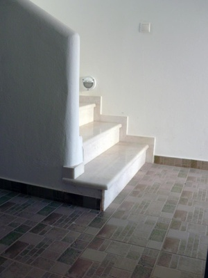 Stairs to the ground floor