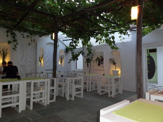 Levantis restaurant is located in the heart of the old town of Parikia.