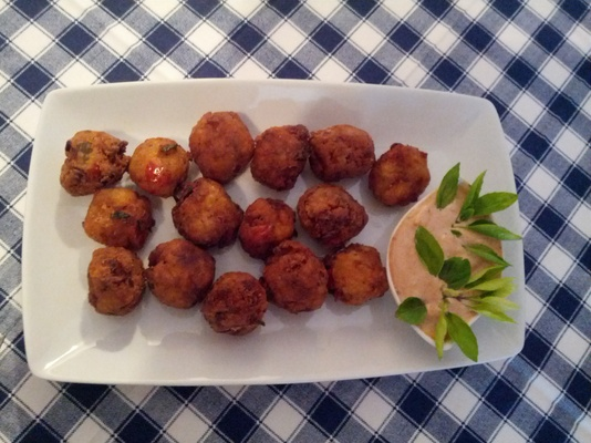 Octopus fried balls