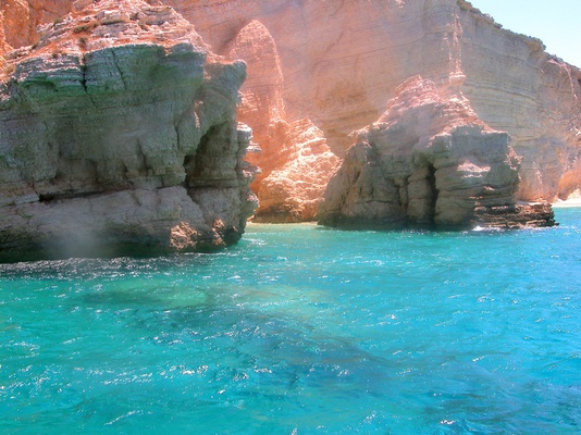 Amazing colours of the Cyclades